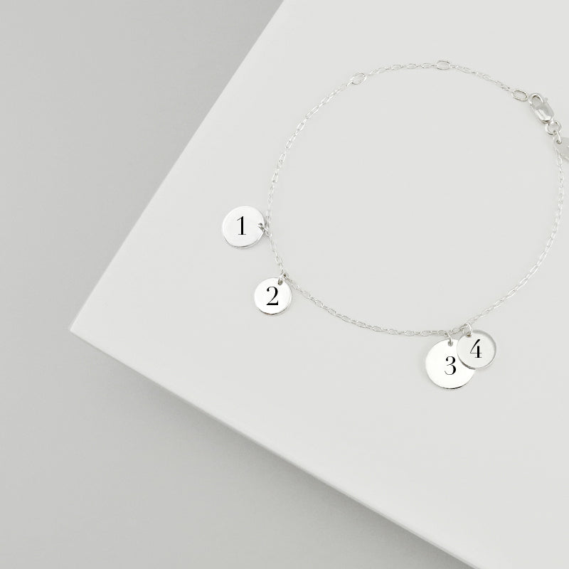 Create something unique for yourself or for a loved one with a meaningful message, monogram, special symbol or a significant date.