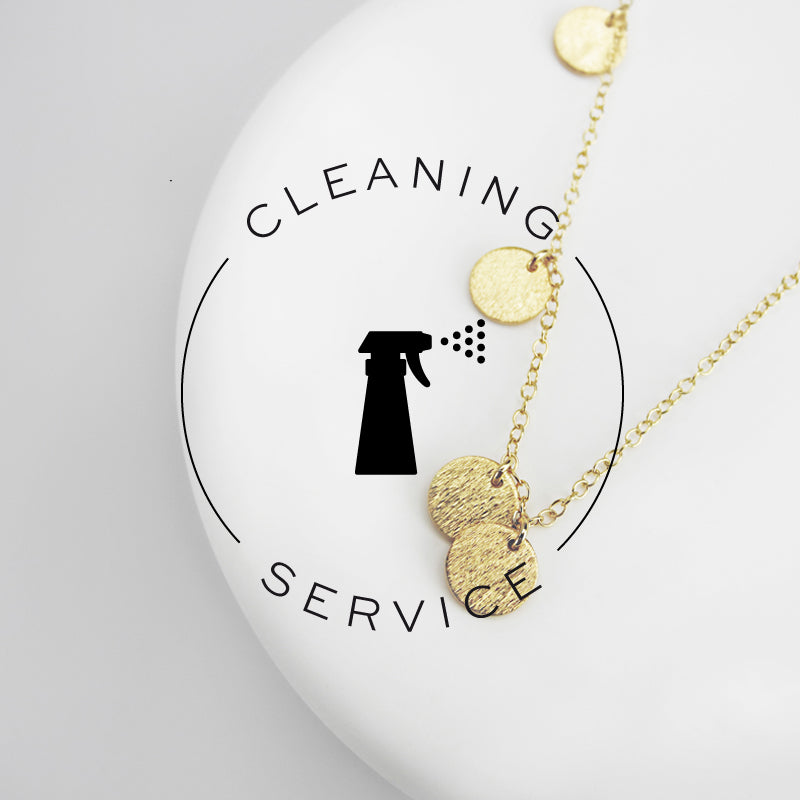 Whether you wear it every day or only occasionally, jewelry requires care and attention! If you've tried all our helpful tips and just can't get back the original brilliance, don't worry, we can do it for you! Judith & Jules offers a professional jewelry Cleaning Service.