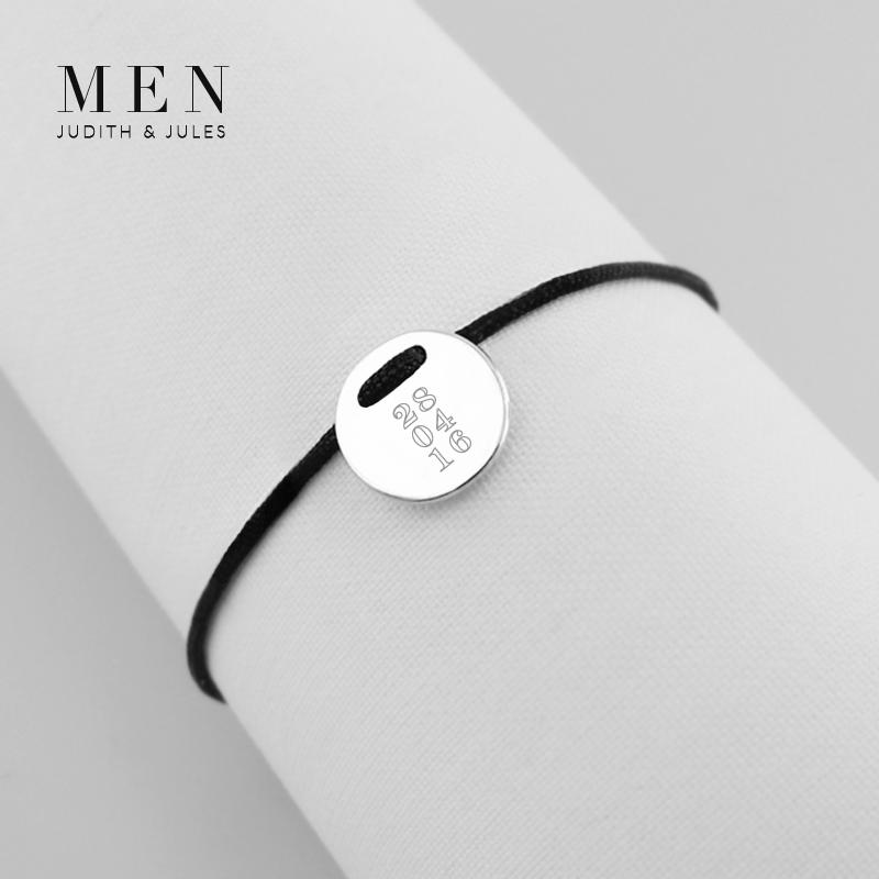 The Talisman Men's Collection combines modern and cool elegance etched with your own personal message, monogram, special symbol or significant date to symbolise rites of passage, family history and personal memories.