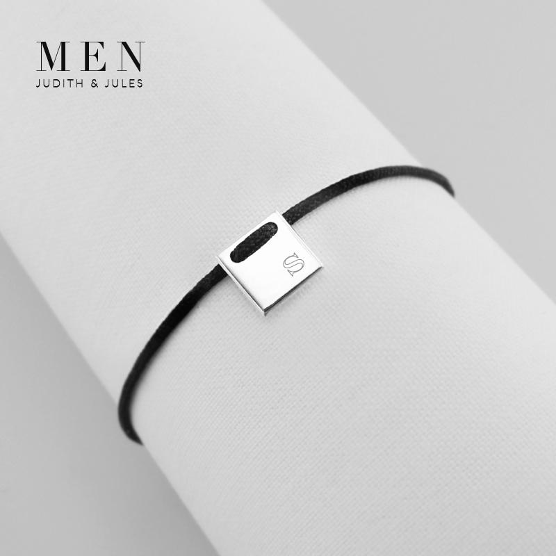 The Talisman Men's Collection combines modern and cool elegance etched with your own personal message, monogram, special symbol or significant date to symbolise rites of passage, family history and personal memories. Create something meaningful for yourself or for a loved one! The possibilities are endless. The message is all yours.