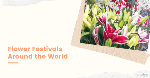 flowers festivals around the world
