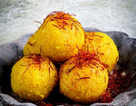 Load image into Gallery viewer, Kashmiri Kesar Mootichur Ladoo
