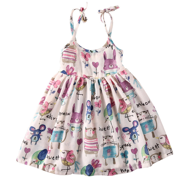 Animal Cartoons Dress