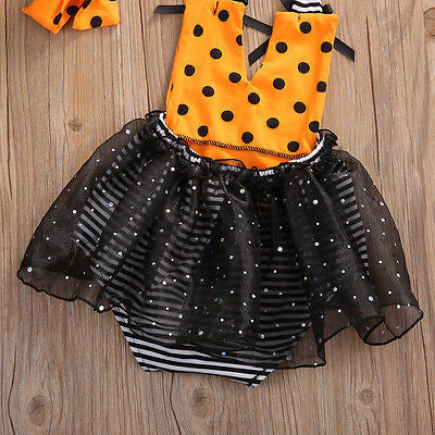 Dotted & Stripes Tutu Set