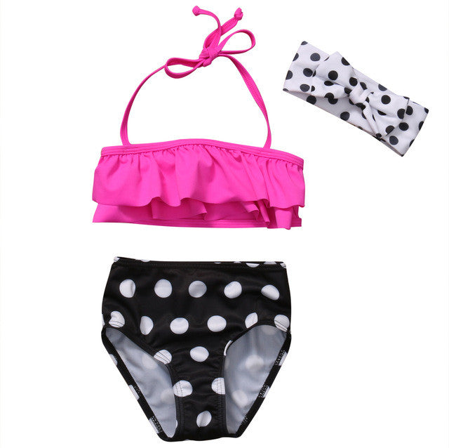 Pink Dots Swimsuit