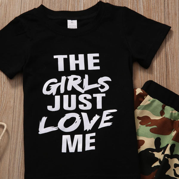 Girls Love Me Set