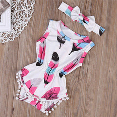 Feathers Tassel Set