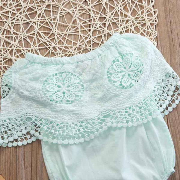 Off Shoulder Lace Bodysuit