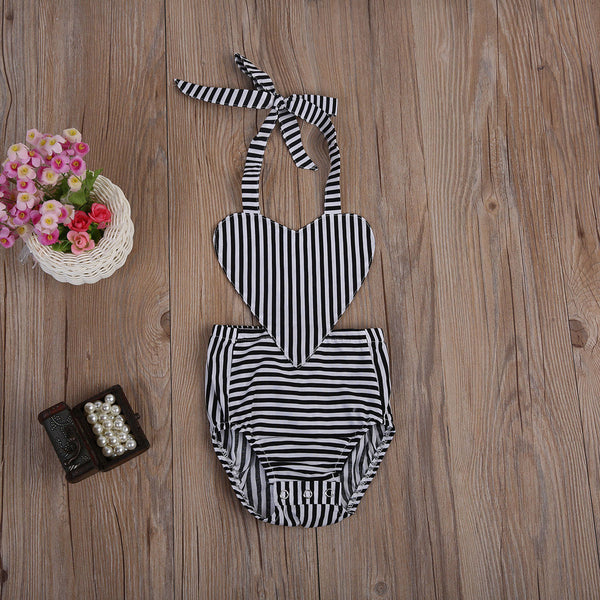Heart Stripes Bodysuit