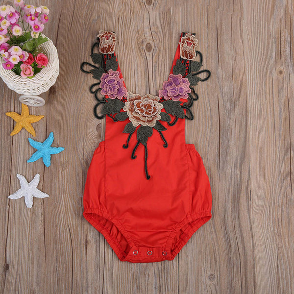 Big Flowers Bodysuit