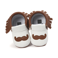 Baby Mustache Shoes