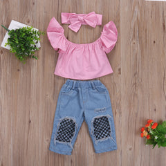 Denim Patch Set