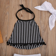 Halter B&W Stripes Set