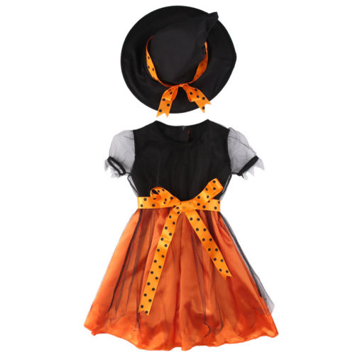 Halloween Pumpkin Dress Set