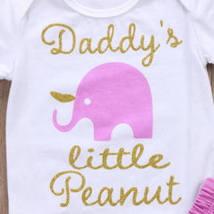 Daddy's Little Peanut Set