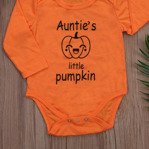 Auntie's Little Pumpkin Bodysuit