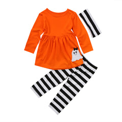 Halloween Stripes Set