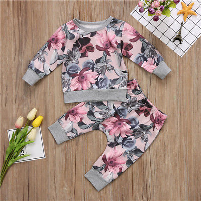 Floral Sweater Set