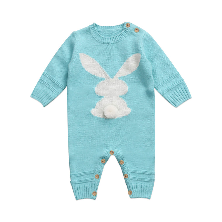 Knitted Bunny Jumpsuit