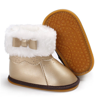 Bow Winter Boots
