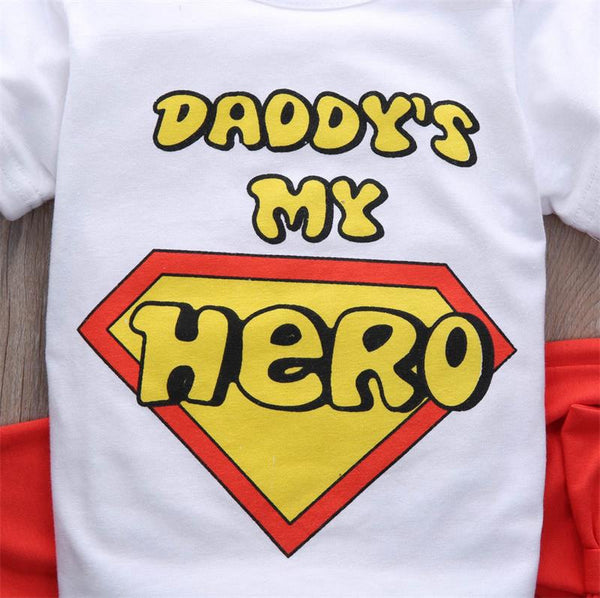 Daddy's My Hero Set