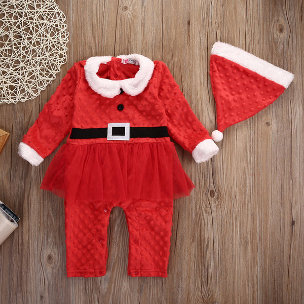 Little Mister & Miss Santa Set