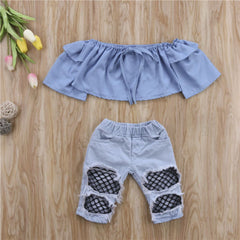 Denim Jeans Set