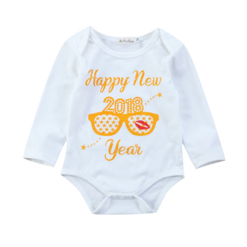 Happy New Year Bodysuit
