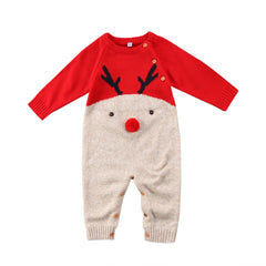 Christmas Knitted Jumpsuit