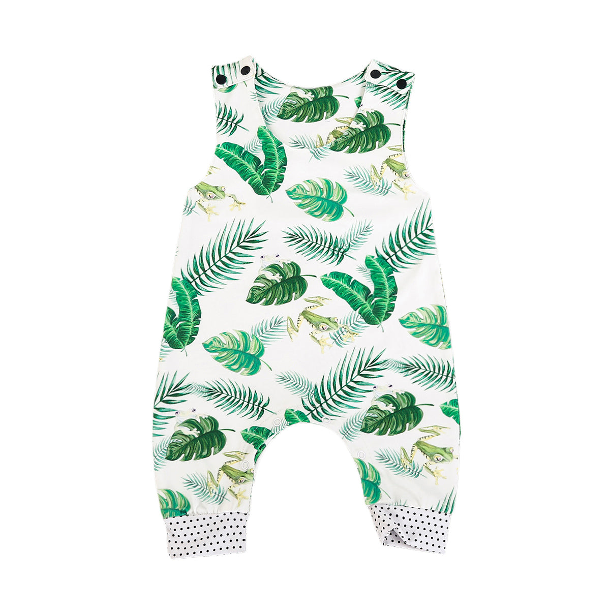 Frogs & Leaves Jumpsuit