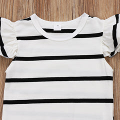 Black & White Stripes Bodysuit