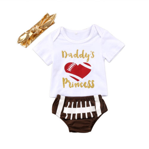 Daddy's Princess Rugby Set