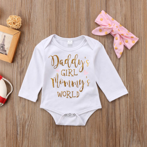 Daddy's Girl Mommy's World Set