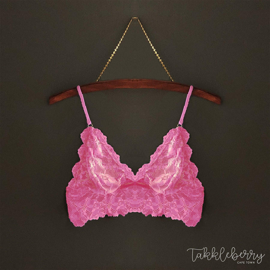 Indie Bralette in Pretty Pink