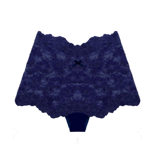 Cheeky Boyshort in Midnight Blue