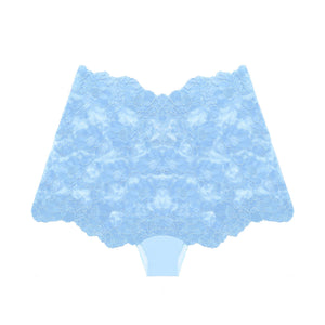 Cheeky Boyshort in Wedgwood Blue