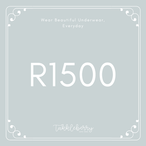 Takkleberry Gift Card - R1500