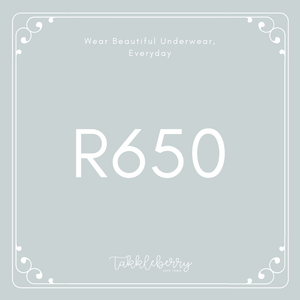 Takkleberry Gift Card - R650