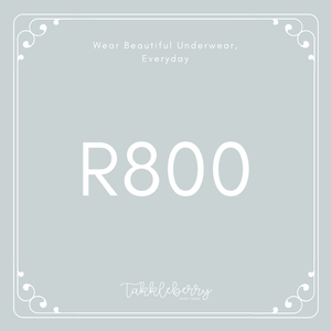 Takkleberry Gift Card - R800
