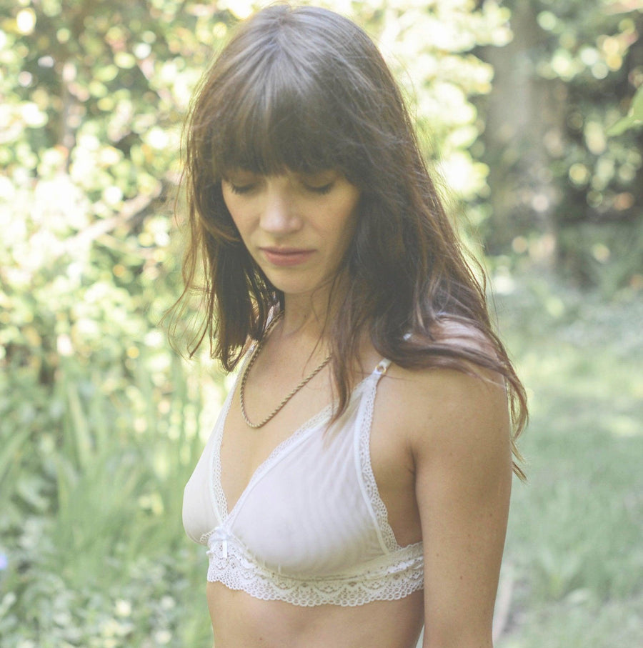 Rio Bralette in Coconut Milk