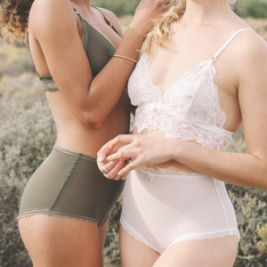 High Waist Knickers in Jungle