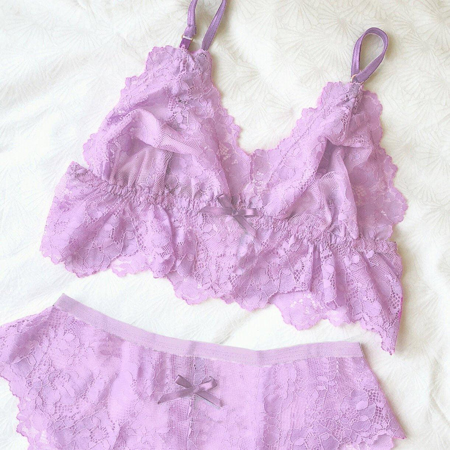 Cheeky Boyshort in Lovely Lilac