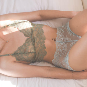 Indie Bralette in Baby Blue