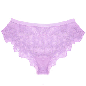 Lace Panty in Lovely Lilac