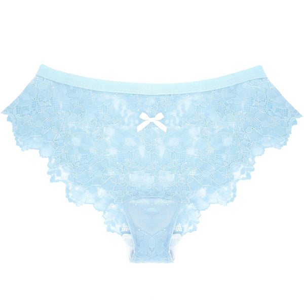 Lace Panty in Baby Blue