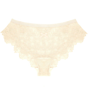 Lace Panty in Champagne