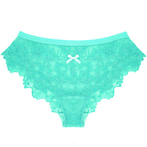 Lace Panty in Mint Pistachio
