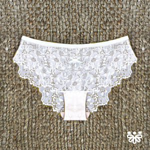 Lace Panty in Nearly Nude