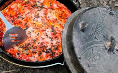 Lasagne i dutch oven