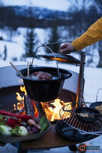 Gryde til bål - Outdoor Cooking
